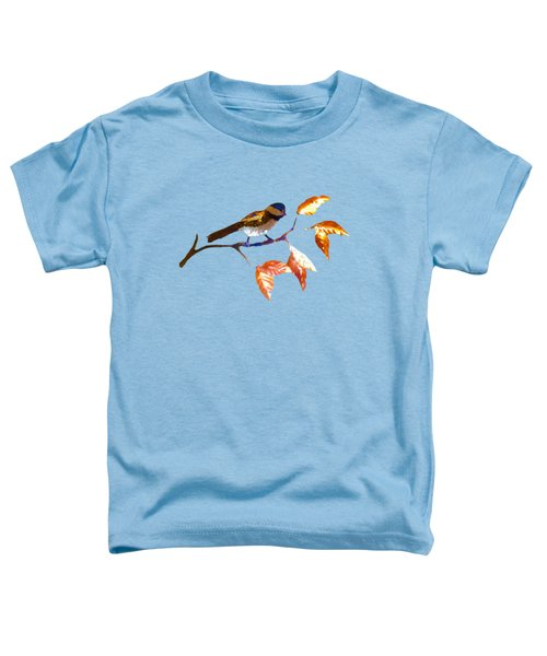 Chickadee Toddler T-Shirt by Troy Rider