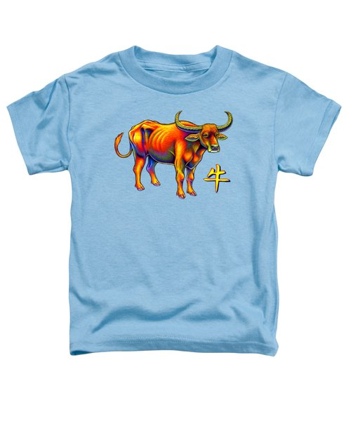 Chinese Zodiac - Year Of The Ox Toddler T-Shirt