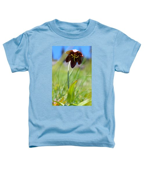 Chocolate Lily Two Toddler T-Shirt