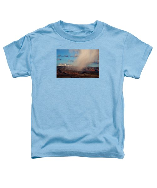 Christmas Day Snow Mix San Francisco Peaks Toddler T-Shirt