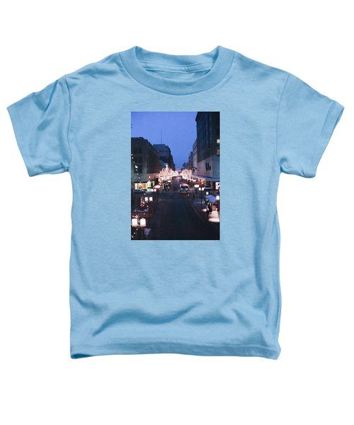 Christmas On The Mall Toddler T-Shirt
