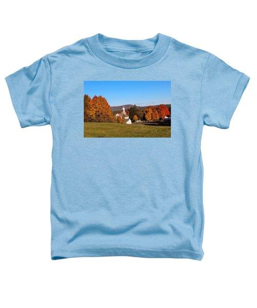Church And Mountain Toddler T-Shirt