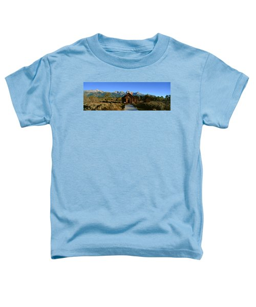 Church Of Transfiguration, Grand Teton Toddler T-Shirt
