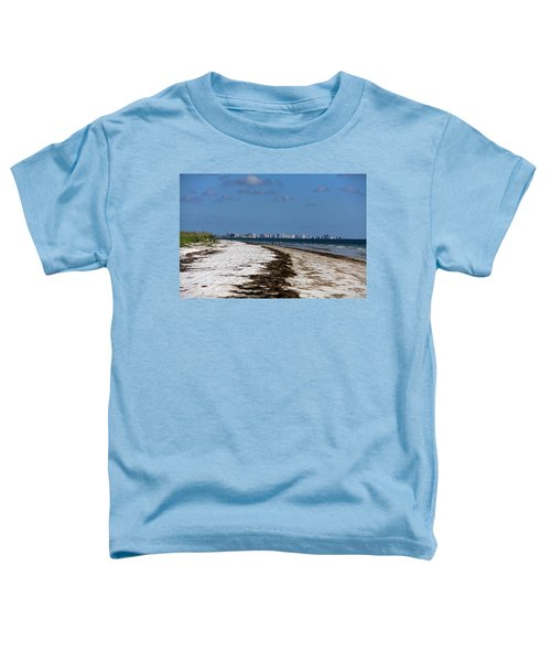 City Of Clearwater Skyline Toddler T-Shirt