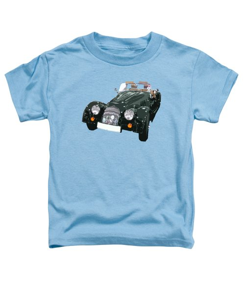 Classic Motor Art In Green Toddler T-Shirt