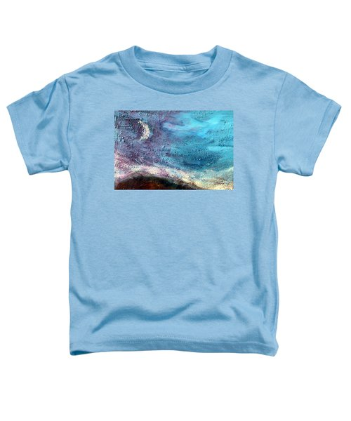 Clay Moon Toddler T-Shirt by Winsome Gunning