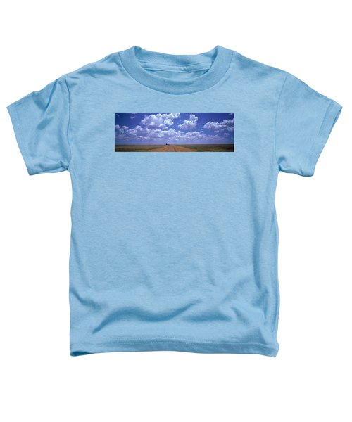 Clouds Over Prairie Amarillo Tx Toddler T-Shirt