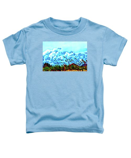 Clouds Over Vilano Beach Toddler T-Shirt