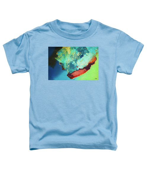 Color Abstraction Lxxvi Toddler T-Shirt