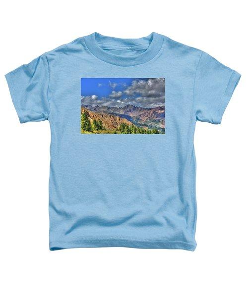 Colorado Rocky Mountains Toddler T-Shirt