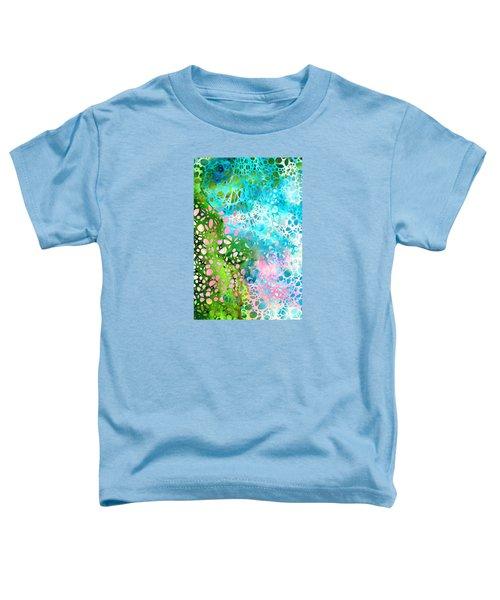 Colorful Art - Enchanting Spring - Sharon Cummings Toddler T-Shirt by Sharon Cummings