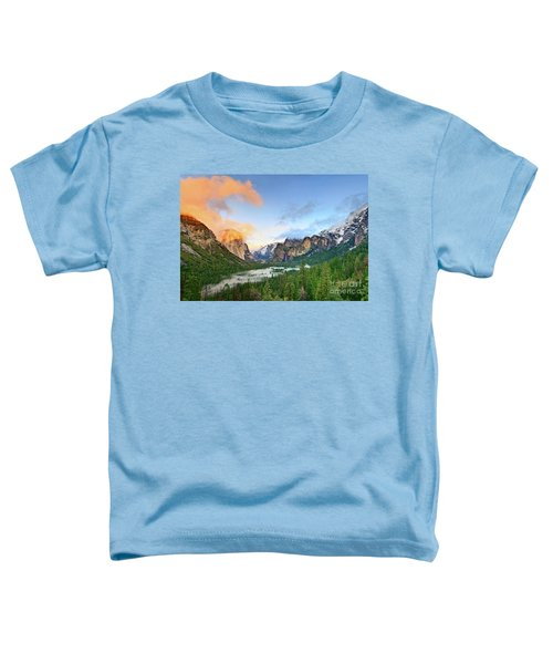 Colors Of Yosemite Toddler T-Shirt