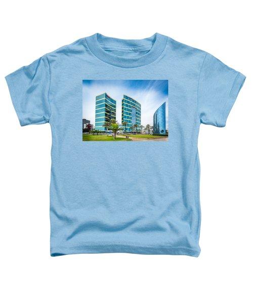 Colour Buildings Lima. Toddler T-Shirt