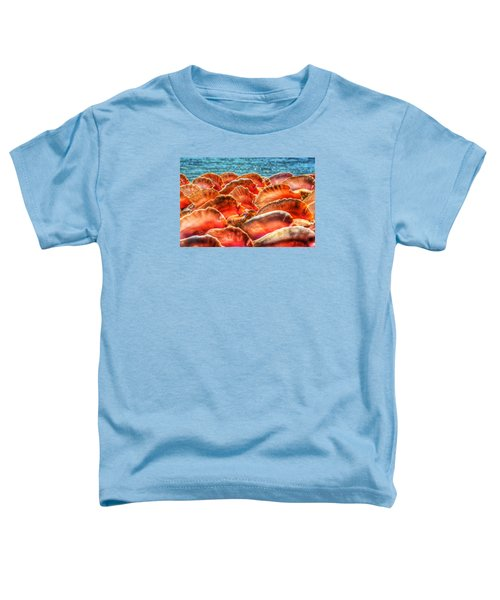 Conch Parade Toddler T-Shirt by Jeremy Lavender Photography