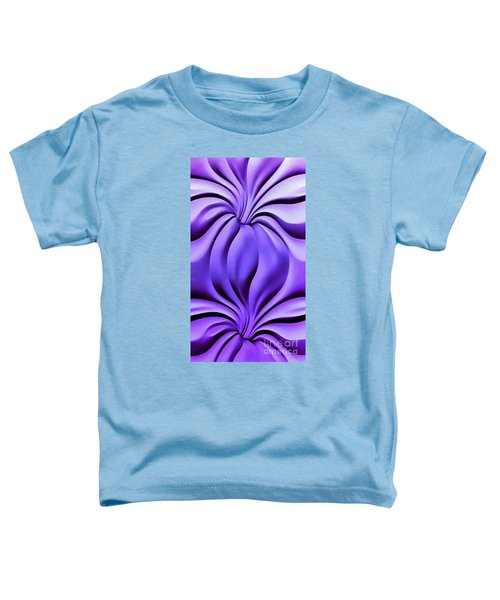 Contemplation In Purple Toddler T-Shirt
