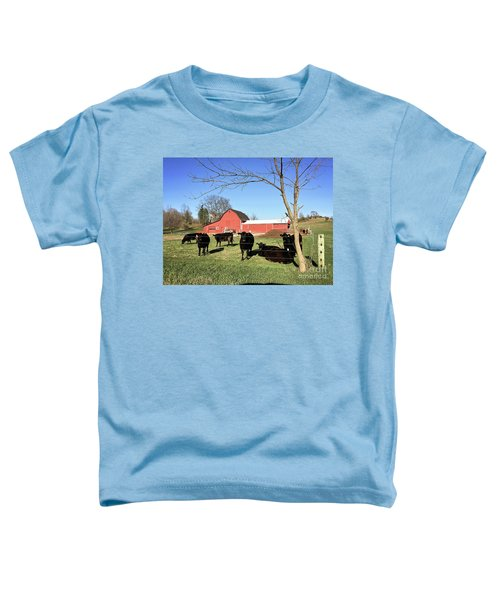 Country Cows Toddler T-Shirt