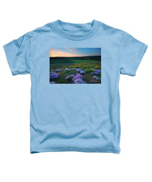 Cowiche Sunset Toddler T-Shirt