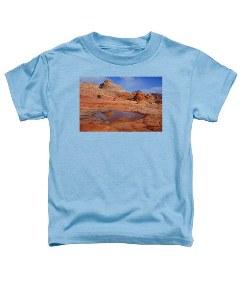 Coyote Butte Reflection Toddler T-Shirt