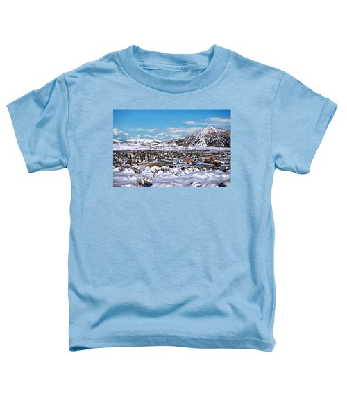 Crested Butte Panorama Toddler T-Shirt