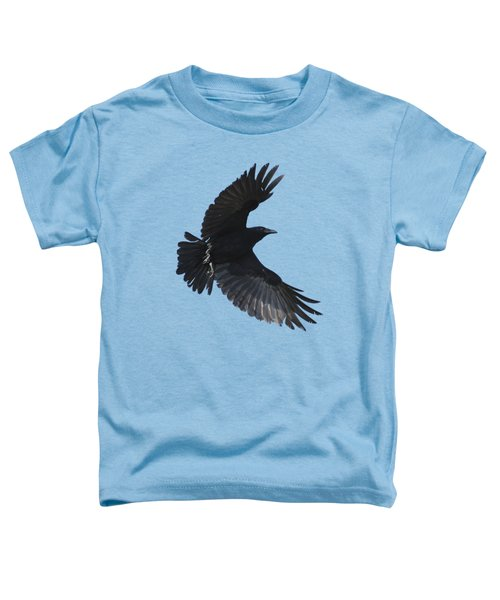 Crow In Flight Toddler T-Shirt