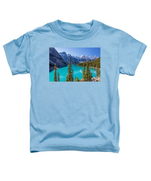 Crown Jewel Of The Canadian Rockies Toddler T-Shirt