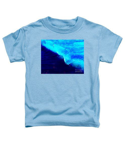 Crystal Blue Wave Painting Toddler T-Shirt