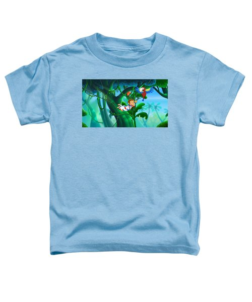 Curious George 3 Back To The Jungle Toddler T-Shirt