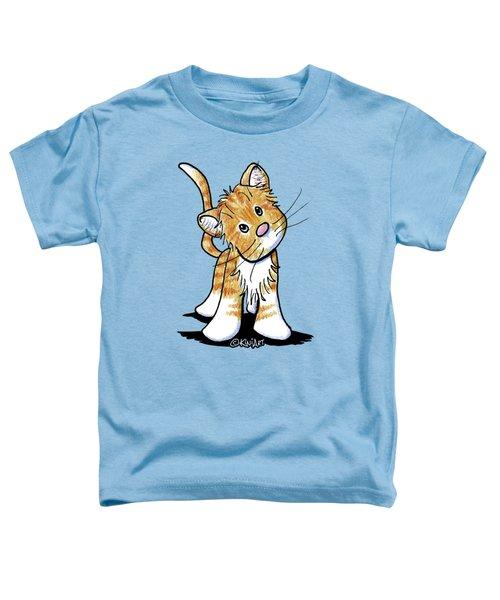 Curious Tabby Toddler T-Shirt