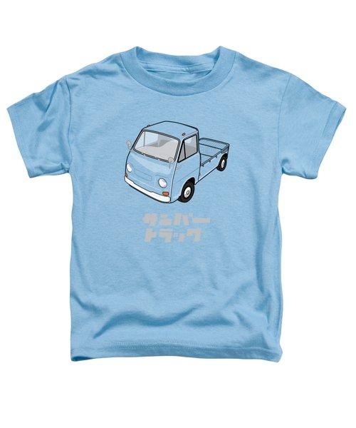 Custom Color Subaru Sambar Truck Toddler T-Shirt