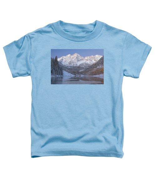 Dawn At Maroon Bells 2 Toddler T-Shirt