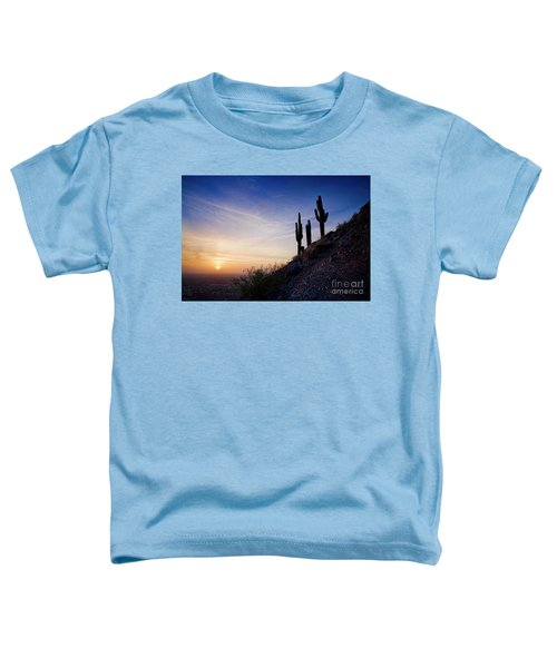 Days End In The Desert Toddler T-Shirt