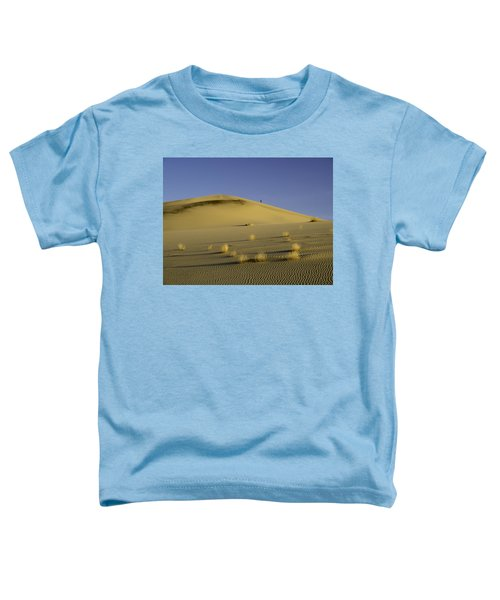 Death Valley Sand Dune At Sunset Toddler T-Shirt