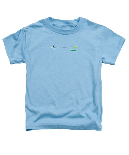 Del Jetski Toddler T-Shirt by Pbs Kids