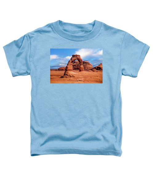 Delicate Arch From Lower Viewpoint Toddler T-Shirt