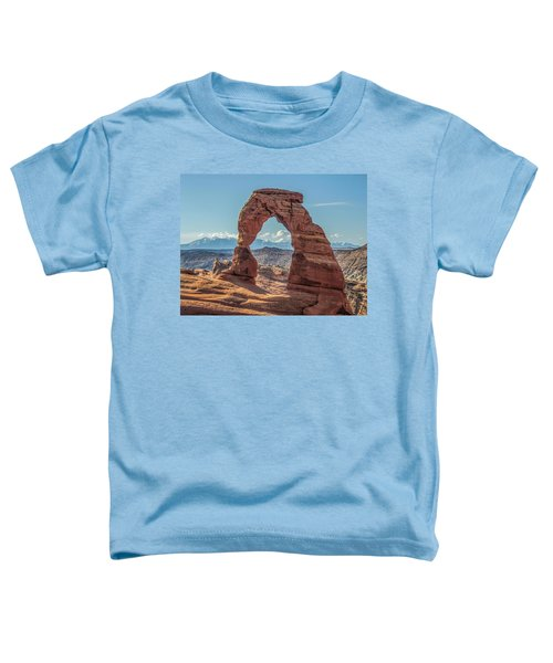 Delicate Arch In Early Morning Toddler T-Shirt