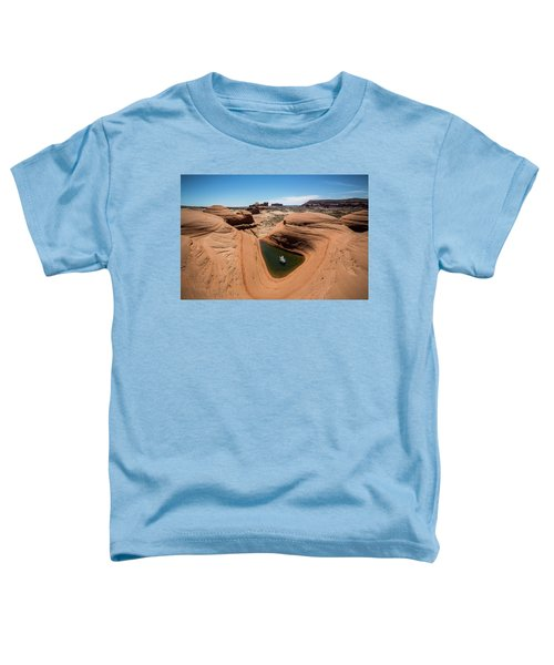 Toddler T-Shirt featuring the photograph Delta Pool 2 by Whit Richardson