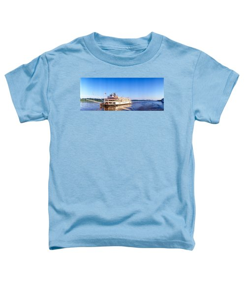 Delta Queen Steamboat On Mississippi Toddler T-Shirt