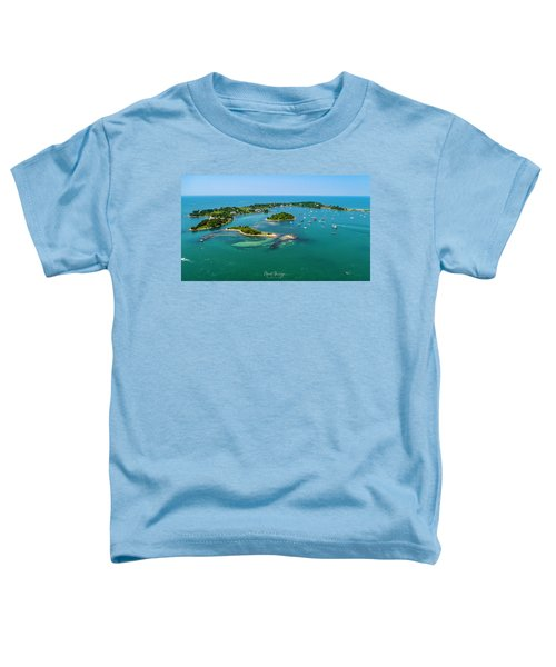 Devils Foot Island Toddler T-Shirt