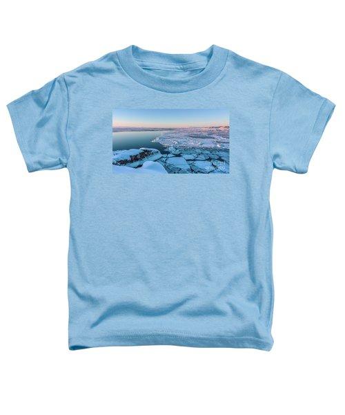 Disko Bay Sunset Toddler T-Shirt