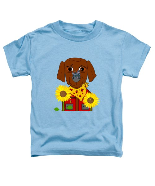 Dog Nature Lover Toddler T-Shirt