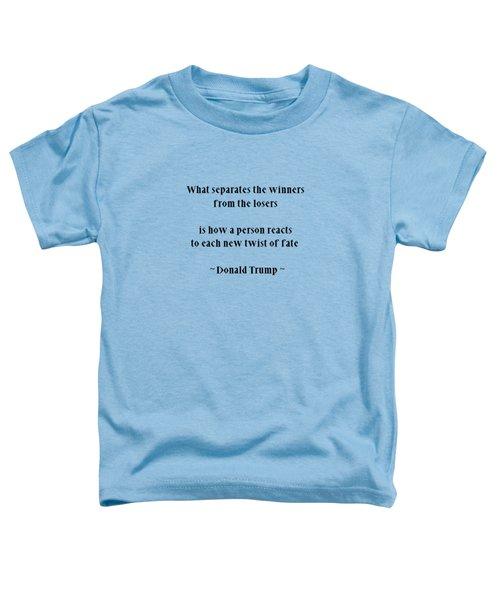 Donald Trump 0101 Toddler T-Shirt