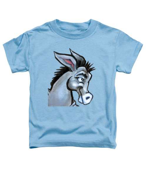 Donkey Toddler T-Shirt by Kevin Middleton
