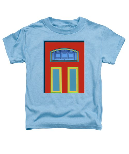 Door - Primary Colors Toddler T-Shirt
