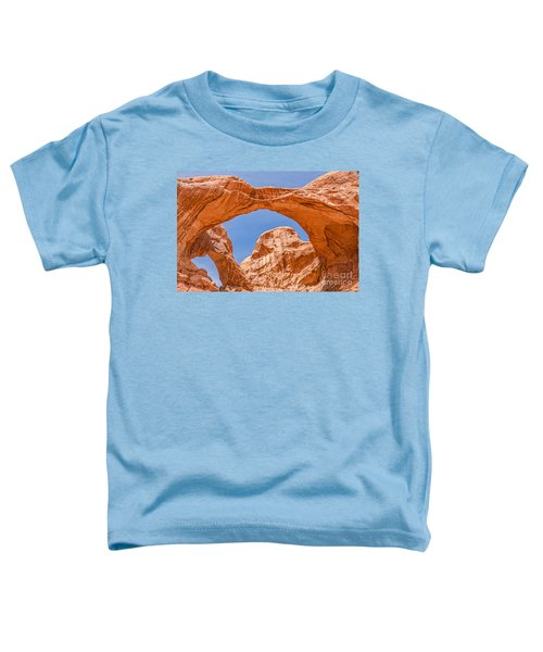 Double Arch At Arches National Park Toddler T-Shirt
