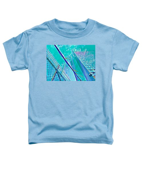 Down By The Water Toddler T-Shirt