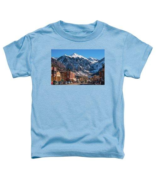 Downtown Telluride Toddler T-Shirt
