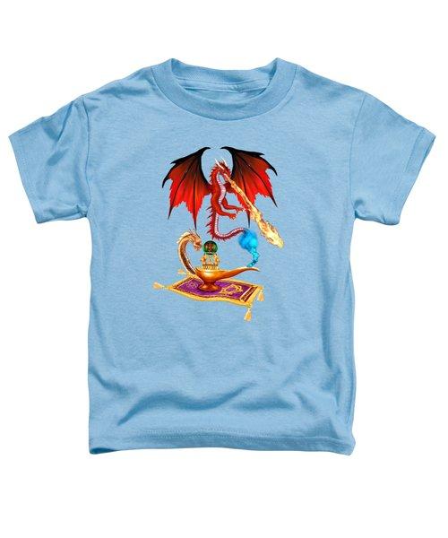 Dragon Genie Toddler T-Shirt by Glenn Holbrook