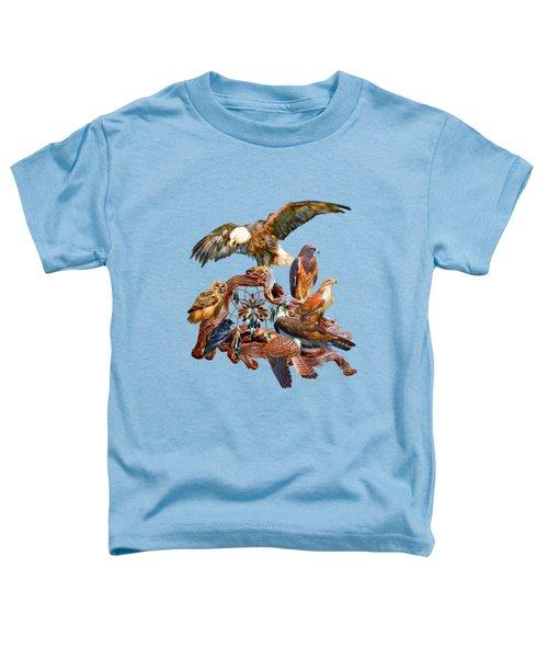 Dream Catcher - Spirit Birds Toddler T-Shirt