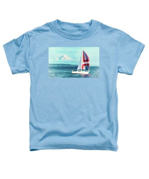 Dream Of Sailing Toddler T-Shirt