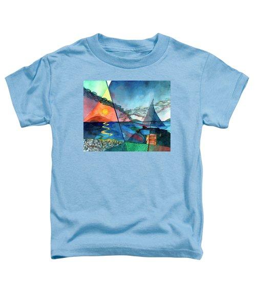 Dusk Over The Chesapeake Toddler T-Shirt